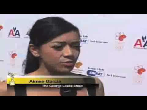 Aimee Garcia Interview at the George Lopez Kidney Foundation Golf Tournament Video