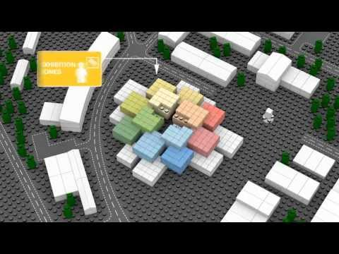 The LEGO House by BIG (Bjarke Ingels Group) -- HD --
