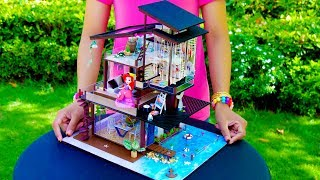 5 DIY Miniature Doll House Rooms #5