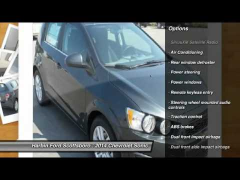 2014 Chevrolet Sonic Scottsboro AL 14A0636H
