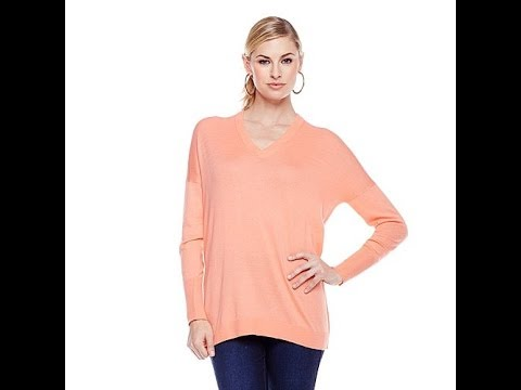 DG2 Ultrasoft VNeck Boyfriend Sweater