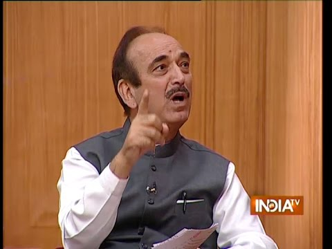 Ghulam Nabi Azad Speaks on 'Will Rahul Gandhi be Congress President?' - India TV