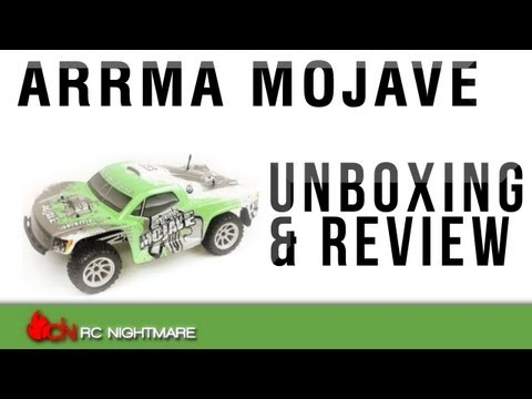Arrma Mojave 2WD Short Course Truck Unboxing & First Review