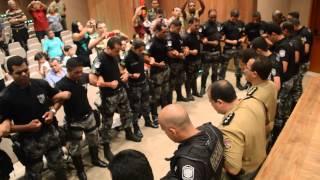 Finalização da solenidade da ROCAM, gravado pelo Blog do Andeson Pereira