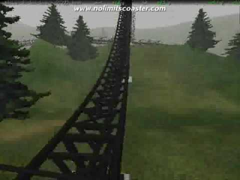Thorpe Park Colossus Rollercoaster