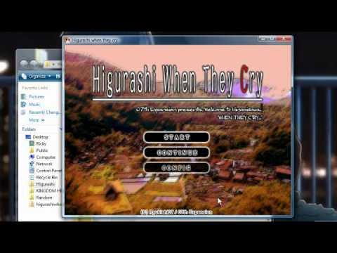 How to Download Higurashi Visual Novels in English