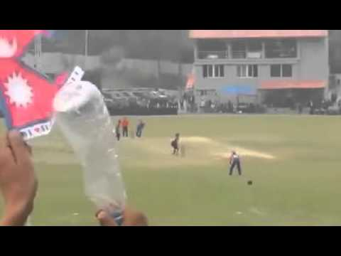 Nepal VS Namibia 2016 Winning Moment   ICC World Cricket League Championship    YouTube