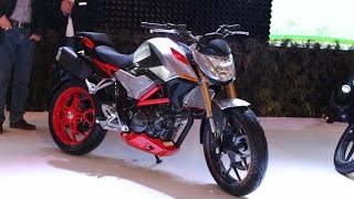 Hero XF3R 300cc Street concept bike at 2016 Auto Expo