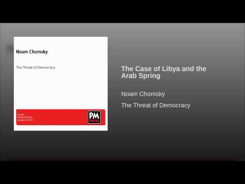 The Case of Libya and the Arab Spring