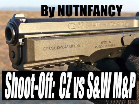Shoot-Off: CZ vs S&W M&P9 at Impact Guns!