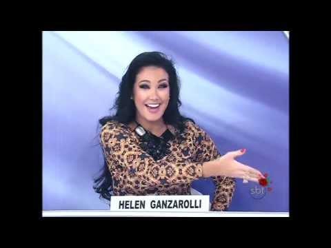 Helen Ganzarolli fica de Calcinha no Palco - Programa Sílvio Santos 12 05 2013 - Jogo Pontinhos