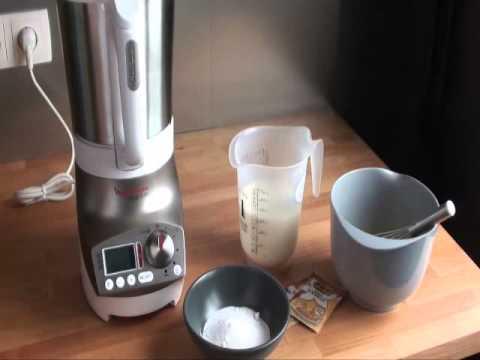 Test du blender chauffant moulinex soup co avec la cr me anglaise youtube - Soup et co moulinex ...