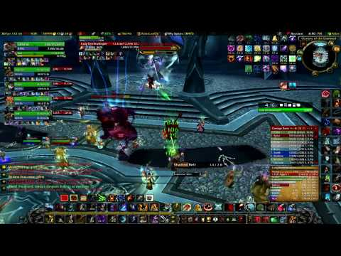 Kink vs Lady Deathwhisper, Icecrown Citadel 25 Man - 9 Dec 2009 (1080p) Video