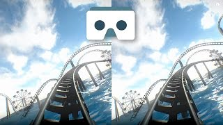Virtual Reality Roller Coaster for VR Box & Google Cardboard: 3D Video Underwater Park