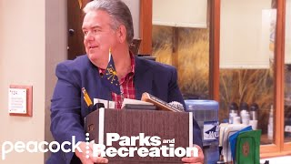 Jerry Retires - Parks and Recreation