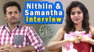 Special Interview with Nithin and Samantha    A..Aa... Movie  Special   NTV