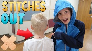 Stitches Out Party & HUGE Storm! || Mommy Monday
