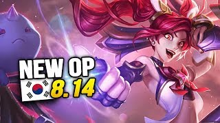 8 New OP Builds and Champs in Korea Patch 8.14 SO FAR (League of Legends)