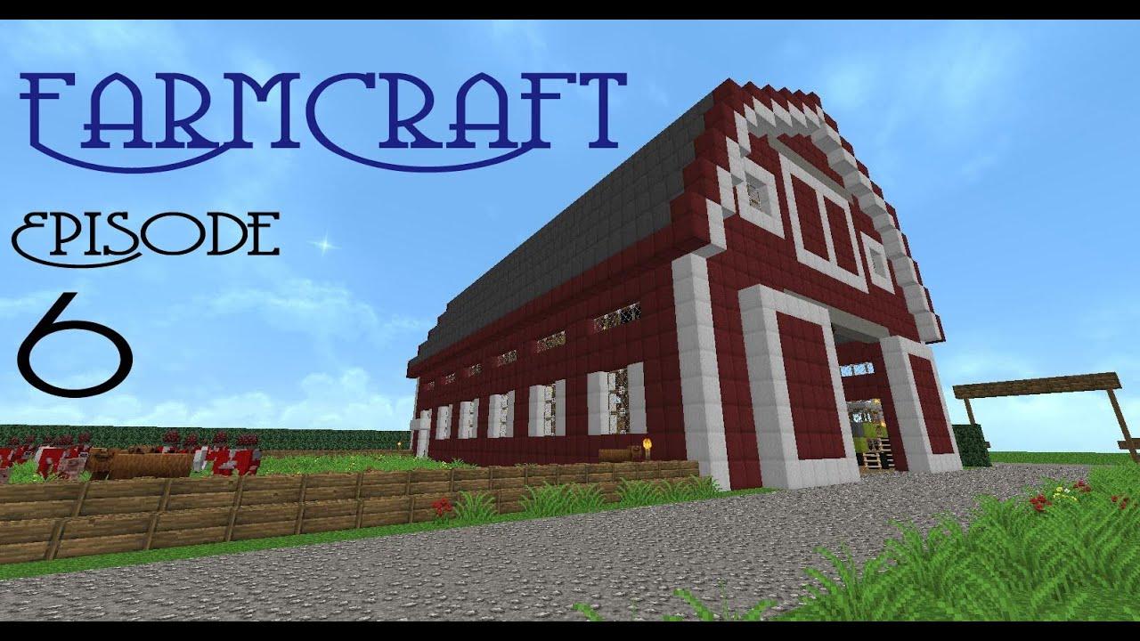 Cow Pen Minecraft Craft Episode 6 Cow Pen