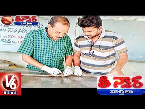 Wounded Cobra Undergoes Spinal Cord Surgery | Teenmaar News