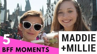 Top 5 Cutest Maddie Ziegler & Millie Bobby Brown BFF Moments!