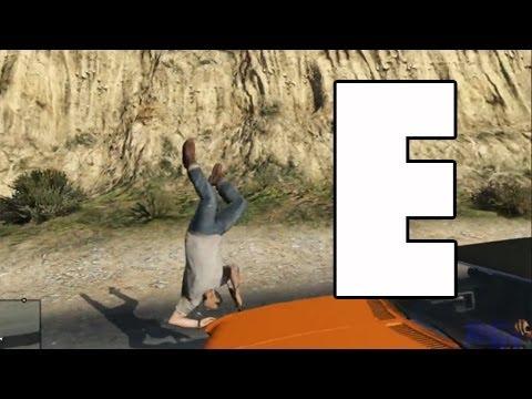 GTA V | Atropellos a cámara lenta | ESPECIAL 1 ATROPELLO POR SEGUNDO
