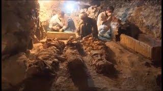 Phát hiện 7 ngôi mộ có tuổi 6000 năm ở kim tự tháp