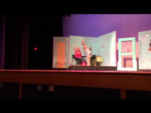 Legally Blonde Act 1 First Flight High School 03/28/2014