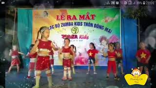 Bé nhảy zumba N2 ♡ Nhạc Dance vui nhộn ♡ Phuong Chi Tivi