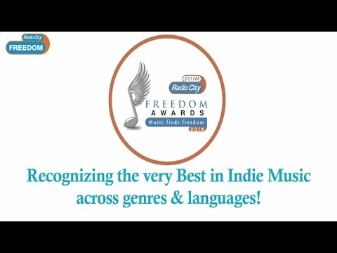 Radio City Freedom Awards 2014 | Recognizing The  Very Best Indie Music Across Genres & Language