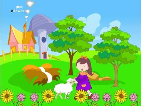 Edewcate english rhymes – Mary had a little lamb