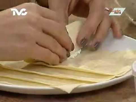 Receta para preparar Canelones de Ricotta
