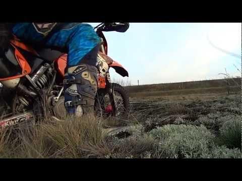 ACTION Cam Sony HDR-AS15 KTM EXC525 Szczekarków 2012