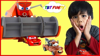 Disney Pixar Cars Toys Frank Eating Lightning McQueen Tow Mater Color Changers Cars