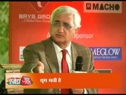 Agenda Aaj Tak: Salman Khurshid and Shahnawaz Hussain on Modi