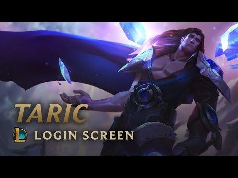 Taric, The Shield Of Valoran | Login Screen - League Of Legends