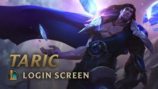Taric, the Shield of Valoran | Login Screen - League of Legends
