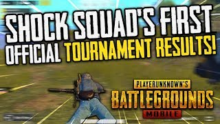 Shock Squad's First Official TOURNAMENT!! PUBG Mobile!