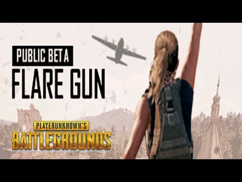 Flare Gun. Public beta. PUBG | PLAYERUNKNOWN'S BATTLEGROUNDS | ПУБГ | ПАБГ