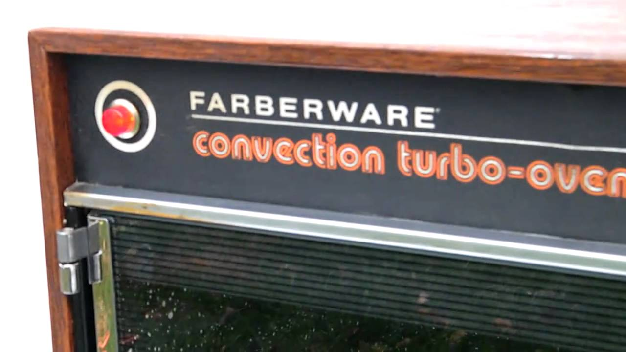 FARBERWARE CONVECTION TURBO OVEN - YouTube