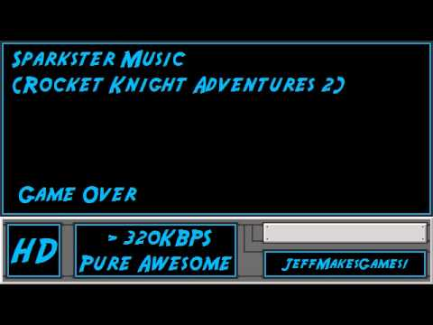 Sparkster (Rocket Knight Adventures 2) Music - Game Over