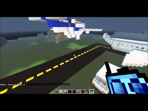 Aeroport Bateau Minecraft