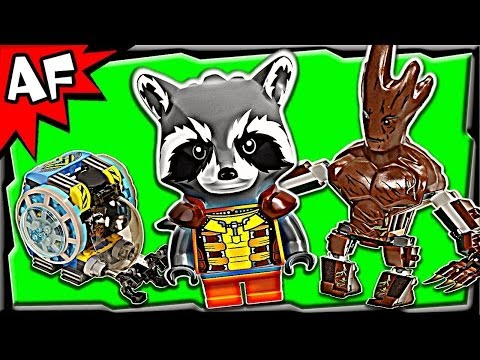 KNOWHERE ESCAPE MISSION 76020 Lego Guardians of the Galaxy Stop Motion Set Review