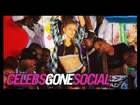 Fergie's sexy music video shoot -- Celebs Gone Social for Oct. 20, 2014