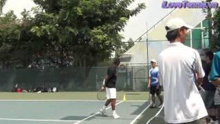 HLV Trương Quang Vũ hướng dẫn Chỉnh sửa động tác Tennis P 11