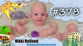 Reborn baby girl Violet - purple fantasy doll - The SMN Show #378