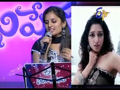 Swarabhishekam - Sri Ramachandra,Gayatri Performance - Nachavu ra Song - 21st September 2014