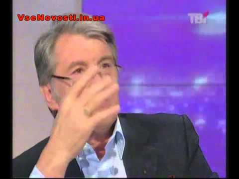 Ющенко о вине Кучмы и инших пидарештив