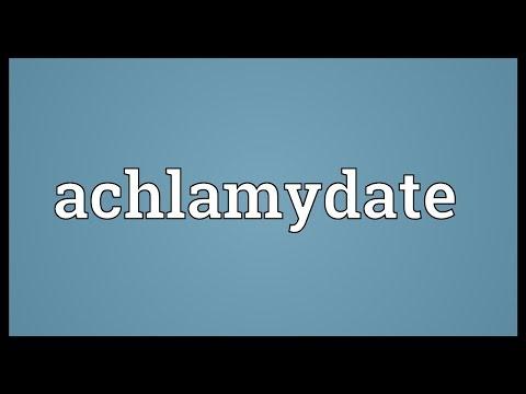 Header of achlamydate