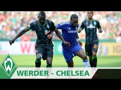 Endlich mal wieder im eigenen Stadion - Werder trifft am Tag der Fans auf Chelsea London. Der 3:0-Sieg zum Genie�en.